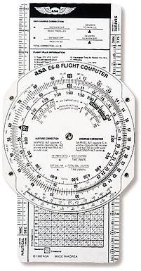Computador de vuelo ASA E6-B