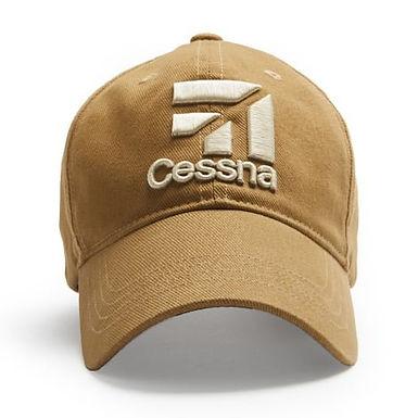 Gorro logo CESSNA - Tan