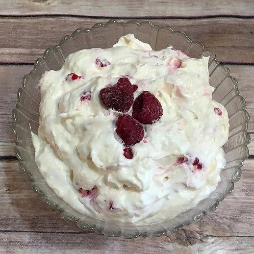 Raspberry Fluff Salad