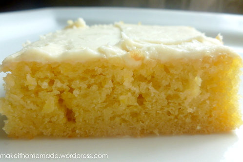 Lemon Cake Bars With Lemon Frosting (32-Count)
