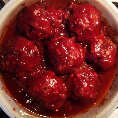 Beef Oven Meatballs