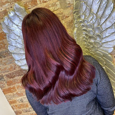 Todays beautiful client wanted a whole n