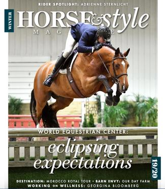 horse & style magazine | winter '20
