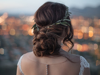 3 Ways to Style Your Hair Based On Your Wedding Dress