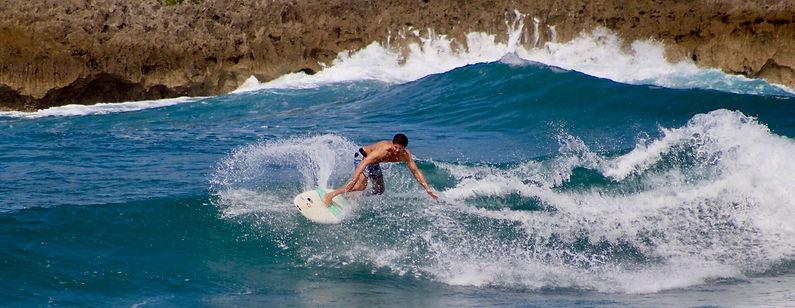 Surfing Puerto Rico, 2017