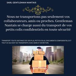 Gentleman Nantais - Livraison