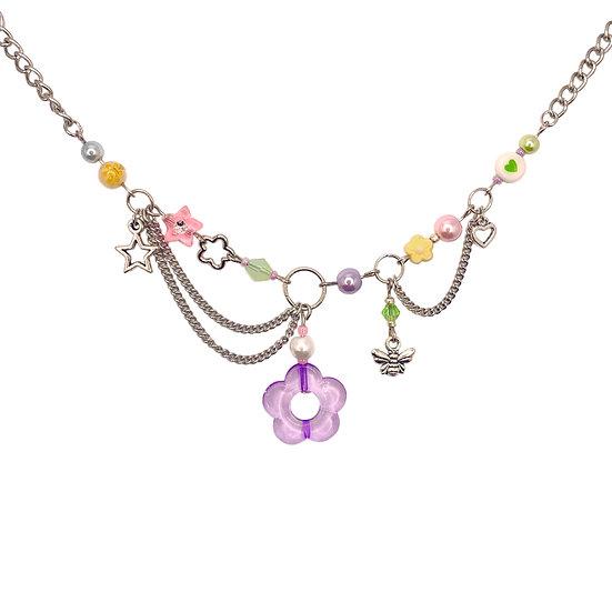 """fairycore"" clutter necklace"