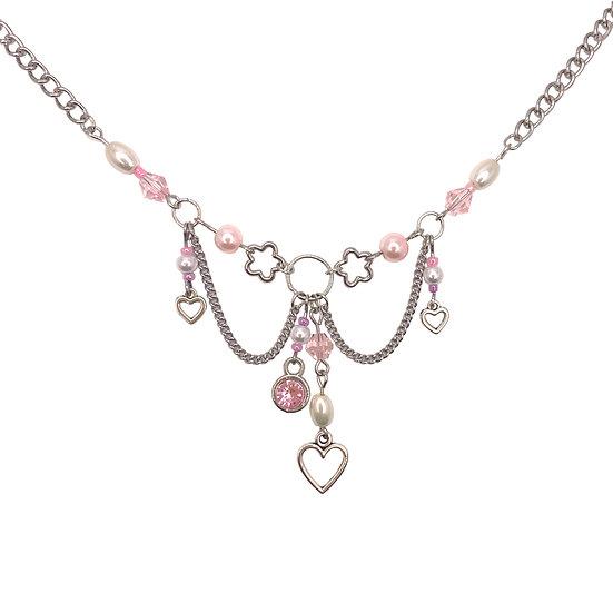 """lovesick"" clutter necklace"