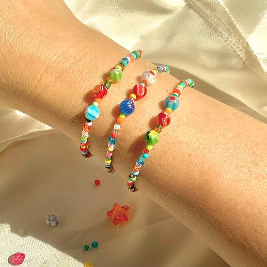 3-bead bracelet