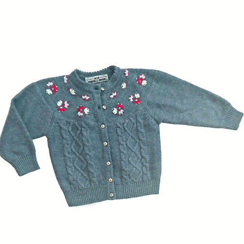VINTAGE A L'HEURE ANGLAISE CARDIGAN 18 MONTHS