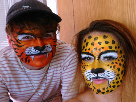 Face painting - open for bookings for any dates from 21st June onwards