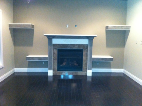 Fireplace Decor Remodel