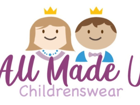All Made Up Childrenswear Website - Up and Running