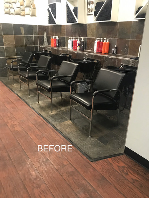 Salon Renovation - Before
