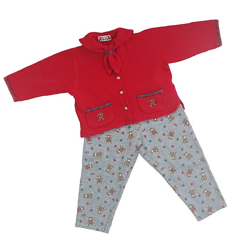 VINTAGE A L'HEURE ANGLAISE OUTFIT 2 YEARS
