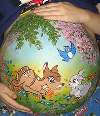 DISNEY BABY BUMP ART.jpg