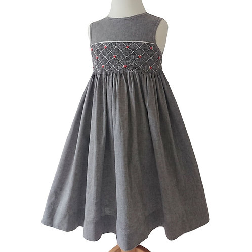VINTAGE FRENCH DESIGNER DRESS - 4 YEARS