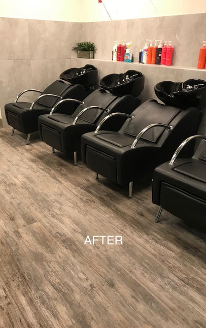 Salon Renovation - After