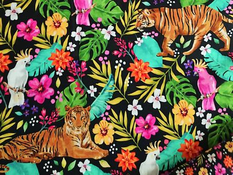 Lots of beautiful new fabrics just in!