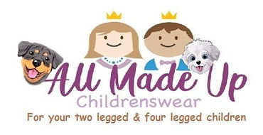 All Made Up Childrenswear logo