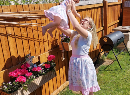 Mummy & Me skirts made to order in any of our available fabrics