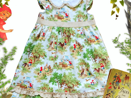 This beautiful dress in age 4-5 years is available now on the ready to post page.