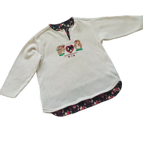 VINTAGE MOTHERCARE COUNTRY COMPANIONS SWEAT TOP 3-4 YEARS