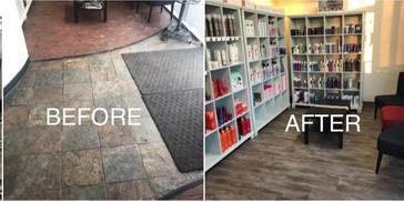 Salon Renovation