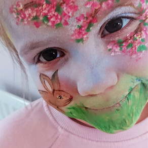 Spring Face Painting