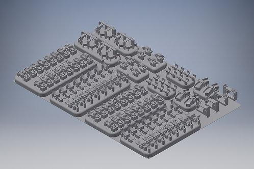 1/35 Pz.Kpfw.III Clamp set
