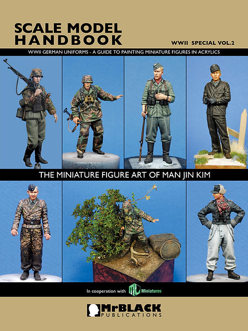 SCALE MODEL HANDBOOK - WWII SPECIAL VOL.2 BY MAN JIN KIM-
