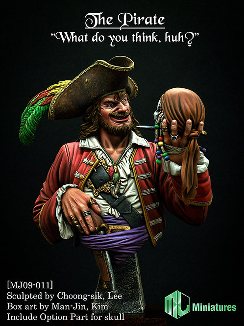"""The Pirate,""""What do you think, huh?"""""""
