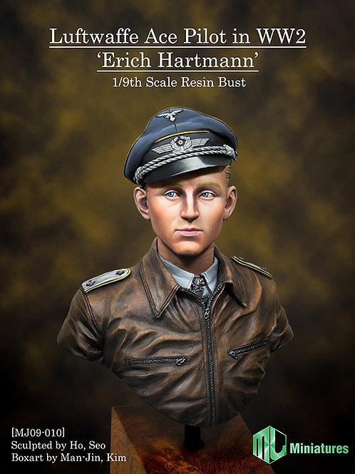 Luftwaffe Ace Pilot in WW2, 'Erich Hartmann'