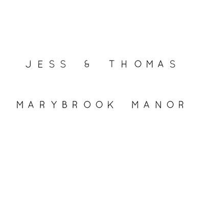 Jess and Thomas