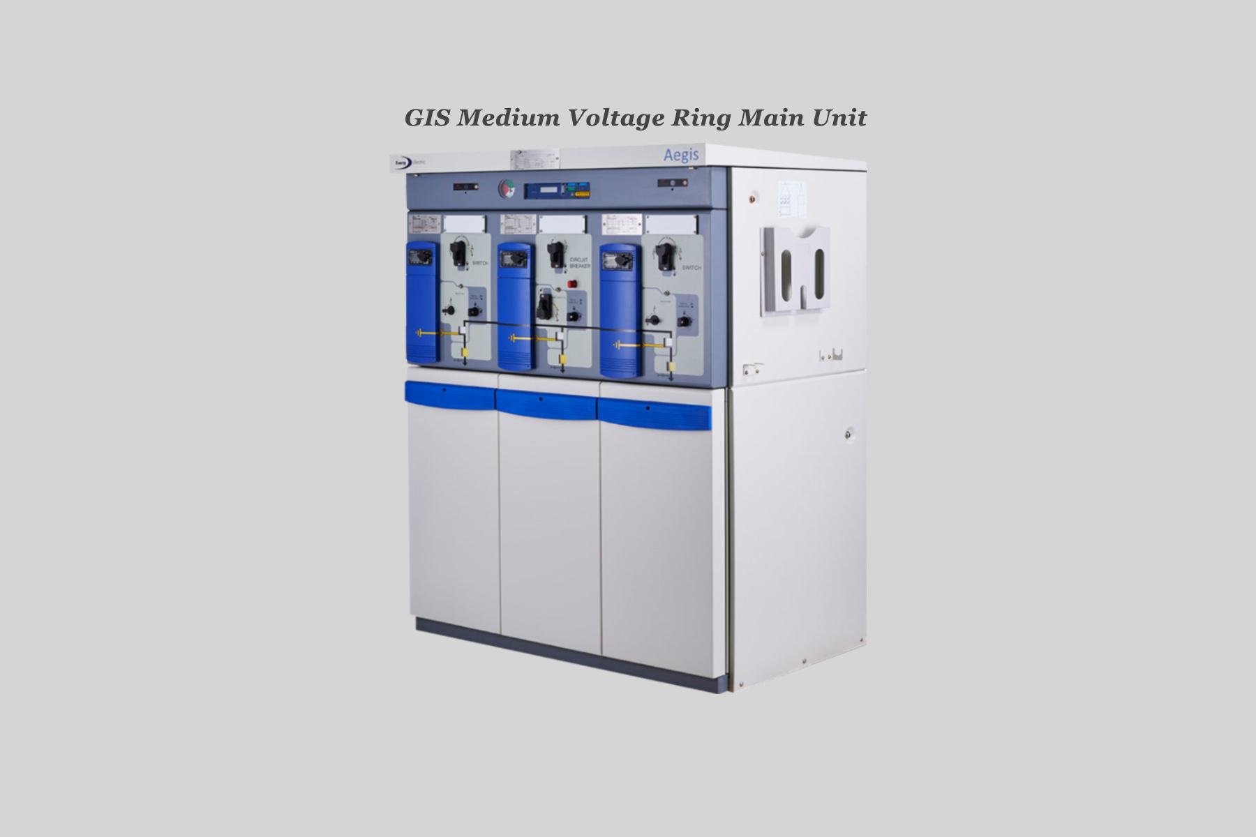 GIS Medium Voltage Ring Main Unit