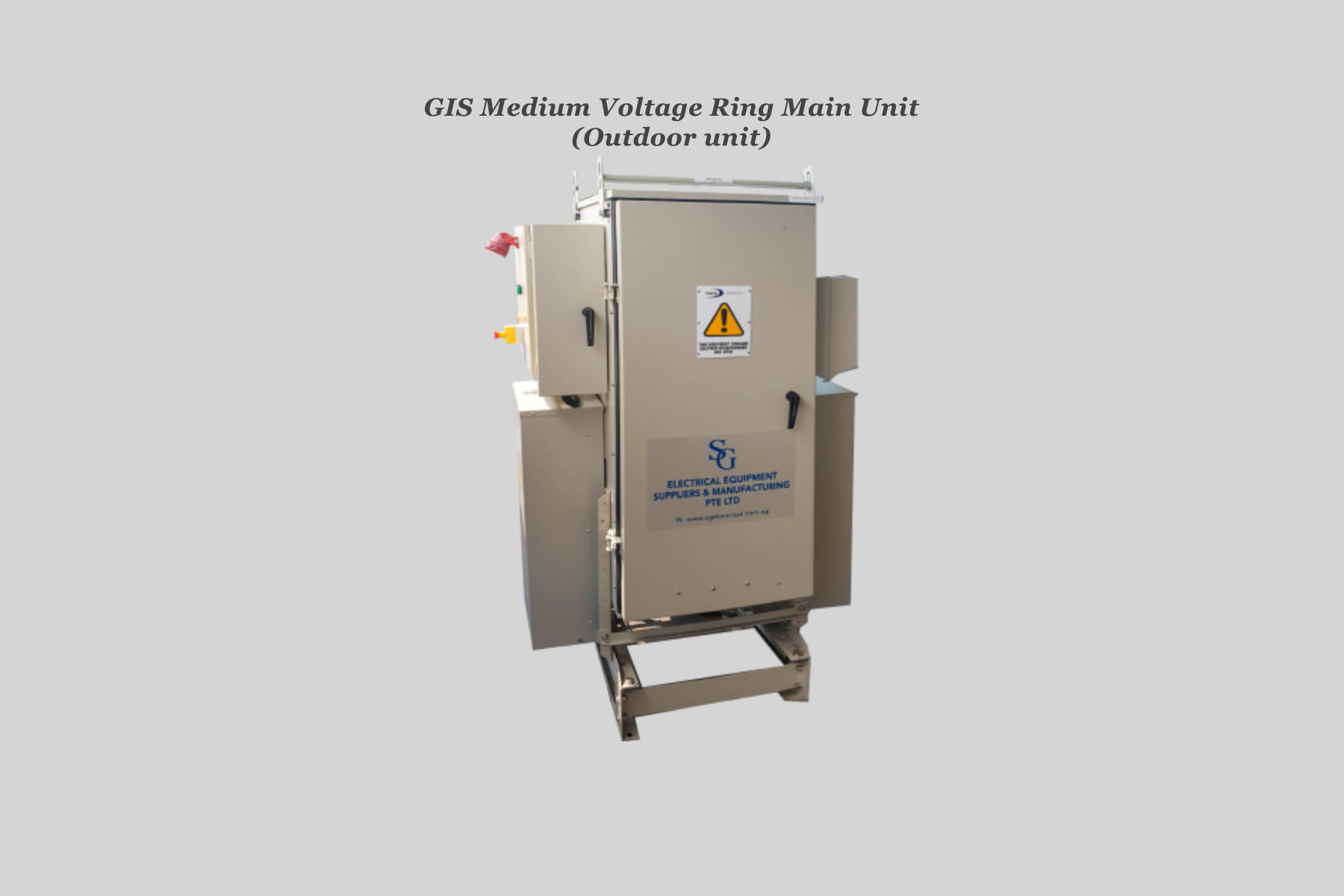 GIS Medium Voltage Ring Main Unit (Outdo