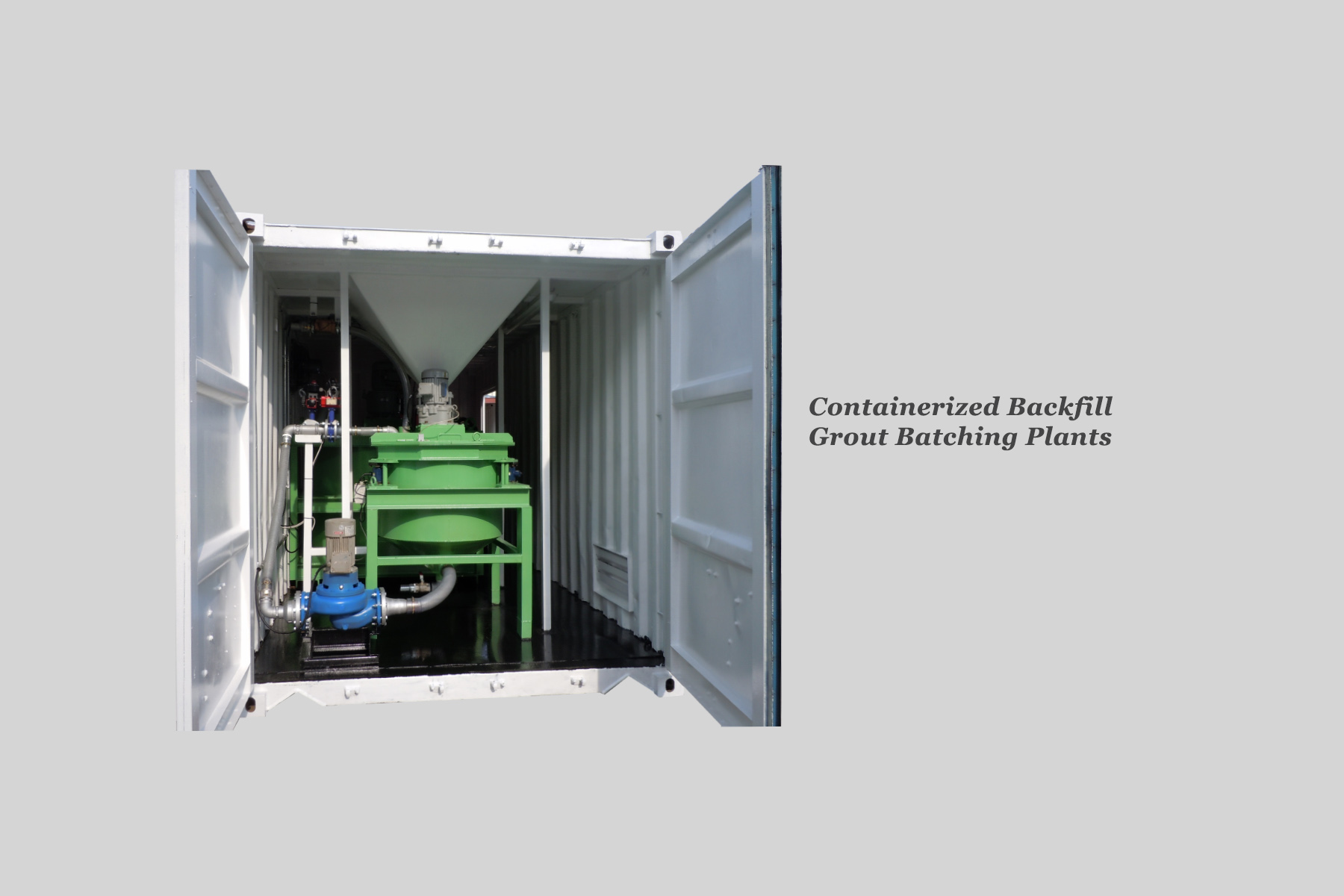 Container Grout Plant