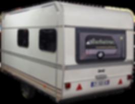 Caravane Barbatruc fermée