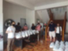 April 27, 2020 delivered to Barangay Man