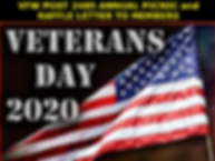 veterans day 2020 picnic and raffle webs