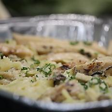 Fettuccine Chicken Alfredo