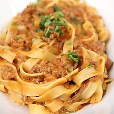 Fettucine Bolognese