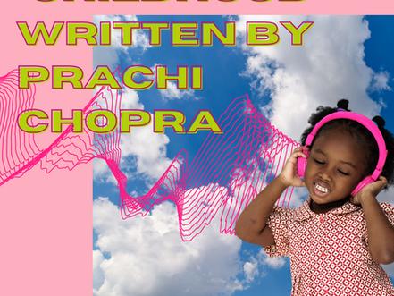 """Childhood"" by Prachi Chopra"