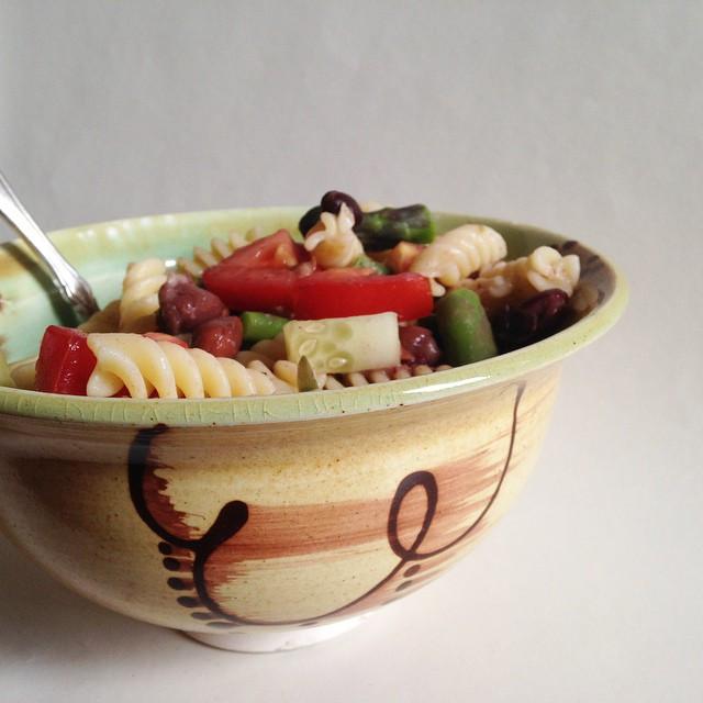 pasta salad in handmade bowl.jpg