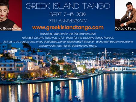 Greek Island Tango 2019