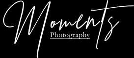 Logo Moments Photography weiß klein inte