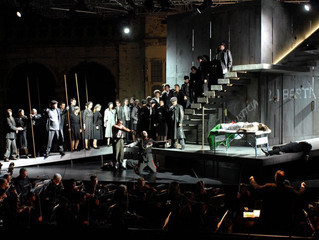 Opening Night of L'amore dei tre re at Opera Holland Park in London.