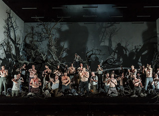 Opening night of Guillaume Tell at Royal Opera House, Covent Garden.