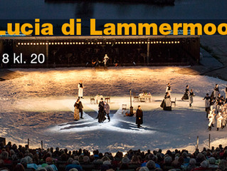 New production of Lucia di Lammermoor for Opera Hedeland in Denmark in August 2018
