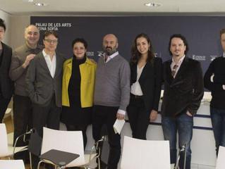 Press conference for Don Pasquale at Palau de les Arts